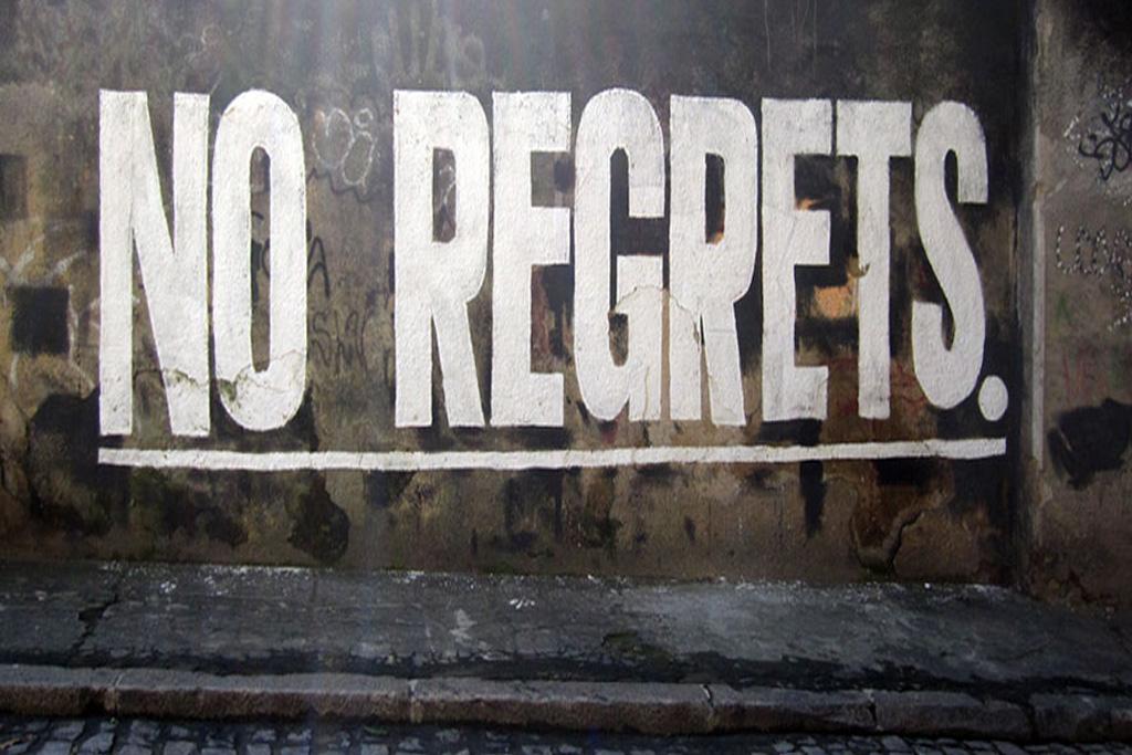 Senza rimpianti