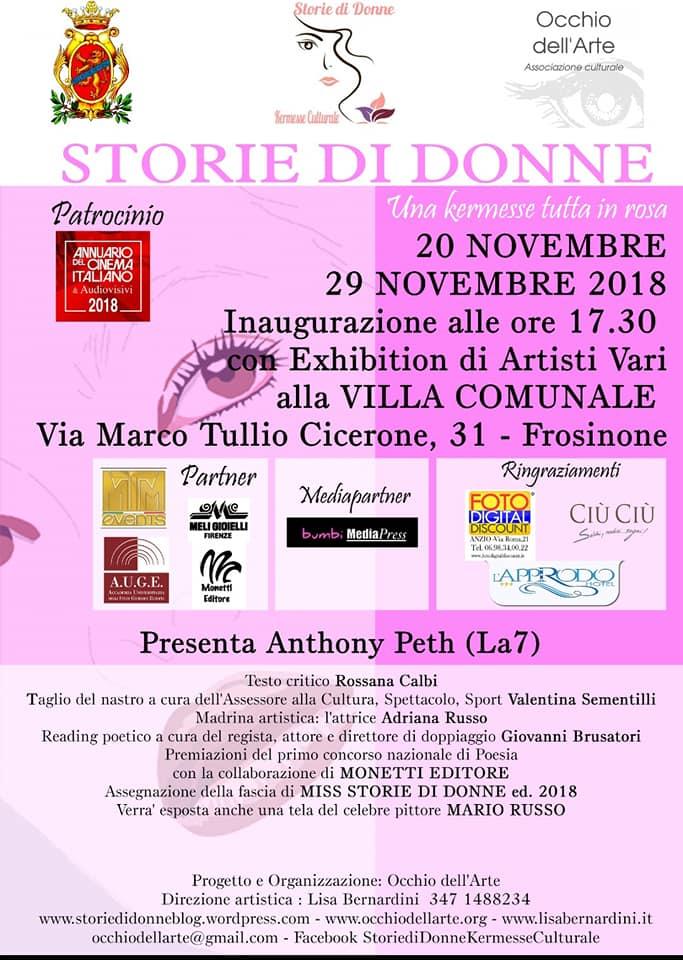 "Kermesse ""Storie di Donne""2018"