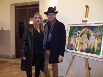 Adriana con Salvatore Monetti - Editore